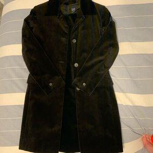 Gap black Velvety Dress and Jacket